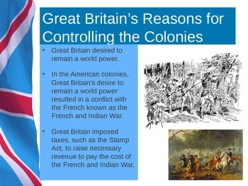 American Revolution Causes PowerPoint