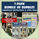 "American Revolution & Civil War ""Bundle of Bundles"""