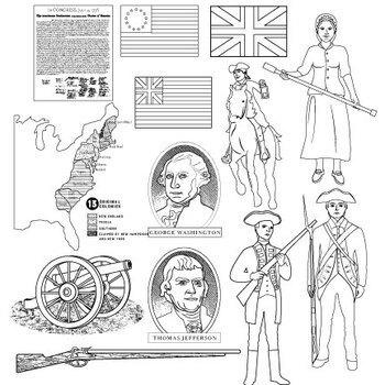American Revolution Clip Art
