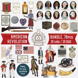 American Revolution Clip Art Bundle