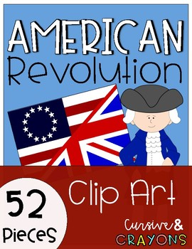 Colonial American Flag Clipart - Clip Art Bay