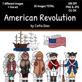 American Revolution Clipart