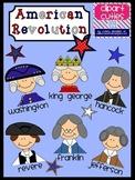 American Revolution Clipart- Washington, Franklin and More!