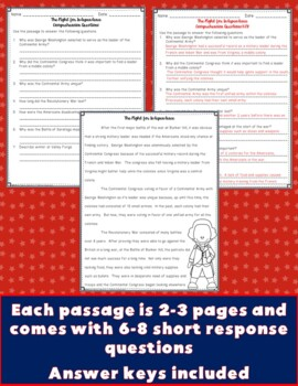 American Revolution Close Reading Passages