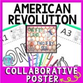 American Revolution Collaborative Poster!  Team Work Activity - Paul Revere