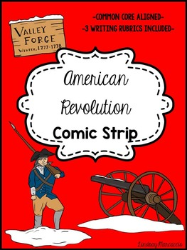 American Revolution Comic Strip