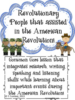 Free internet activities resources lesson plans teachers pay american revolution common core report with rubric fandeluxe Choice Image