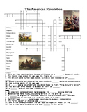 American Revolution Crossword Puzzle or Web Quest