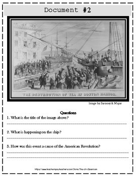 American Revolution DBQ Bundle!