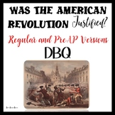 American Revolution DBQ - Reading and Writing using Primar