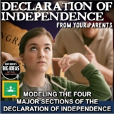 American Revolution: Declaration of Independence From Your Parents