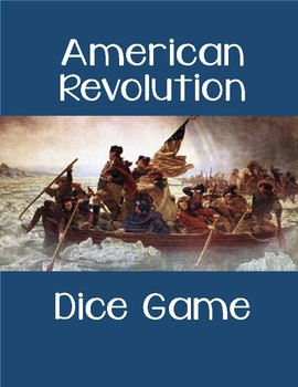 American Revolution Dice Game