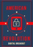 American Revolution Digital Breakout / Escape Room