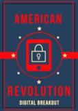 Distance Learning: American Revolution Digital Breakout /