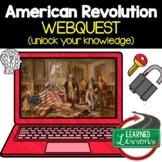 American Revolution Digital Escape Room, American Revolution Breakout Room