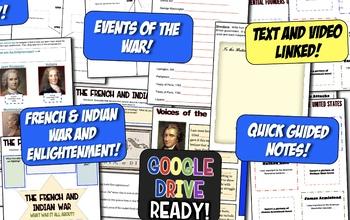American Revolution DIGITAL Notebook! Google Drive Ready for Revolutionary War!