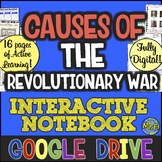 American Revolution DIGITAL Notebook! Google Drive Ready | Distance Learning