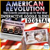 American Revolution Distance Learning Google Classroom |  Google Slides