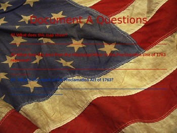 American Revolution Document Based Questions