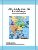 American Revolution Economics, Politics and Social Changes Lesson