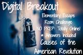 American Revolution: Elementary / Middle Digital Breakout