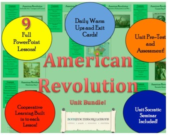 American Revolution - Entire Unit Bundle!