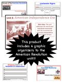 American Revolution Era, Graphic Organizers