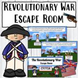 American Revolution Escape Room   Digital Resource