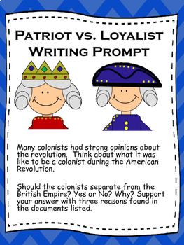American Revolution Essay & Debate
