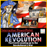 American Revolution - Events Leading up to the Revolutiona