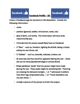 American Revolution - Facebook Page