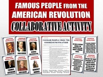 American Revolution - Famous People of the American Revolu