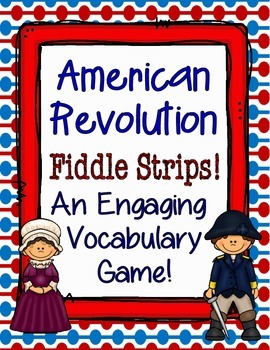 American Revolution Fiddle Strips!