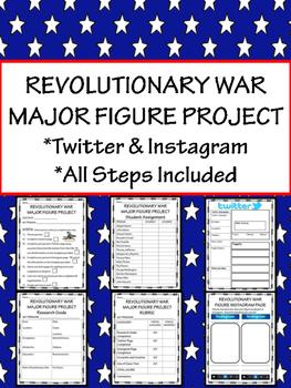 American Revolution Figure Project; Twitter; Instagram; Al