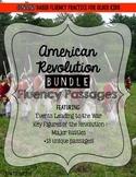 American Revolution Fluency Passages BUNDLE