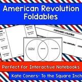 American Revolution Foldables