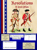 American Revolution & French Revolution Activities - 14 Lessons in 1!