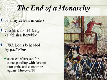 The French Revolution and Napoleon Power Point