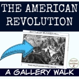 American Revolution Battles Gallery Walk Activity for the Revolutionary War