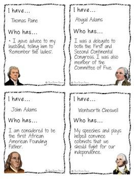 American Revolution Game