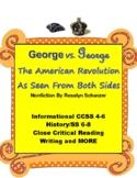 American Revolution: George vs. George Nonfiction by Schanzer 4-8