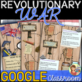 American Revolution Google Classroom Distance Learning