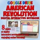American Revolution Google Drive Interactive Notebook