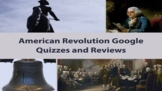 American Revolution Google Quiz and STAAR Review