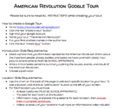 American Revolution Google Tour Project