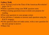 American Revolution Guidebook 2.0 Lessons 9-12
