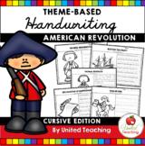Handwriting Practice - American Revolution (Cursive)