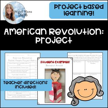 American Revolution Historical Figures Project Social Studies