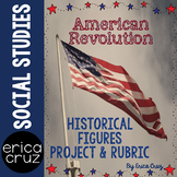 American Revolution Historical Figures Project Social Studies