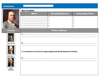 Facebook American Revolution Profiles